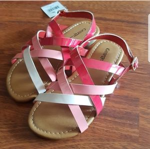 PINK SANDALS Size 12 NWT - Holiday Gift Ideas
